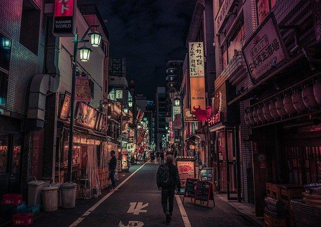 歌舞伎町飲み屋街